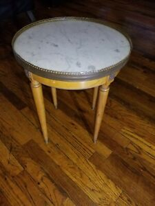 Pair-Of-Marble-top-side-tables
