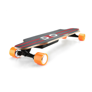 Top Performance Best Electric Longboard. 12 Mile Range. 15 MPH. Replacable Motor