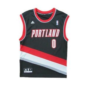Portland Trail Blazers Damian Lillard Basketball Jersey Adidas Sz ...