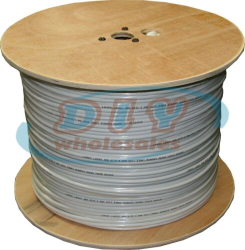 1000 ft RG59 Siamese Cable CCTV Video /& Power ETL Listed