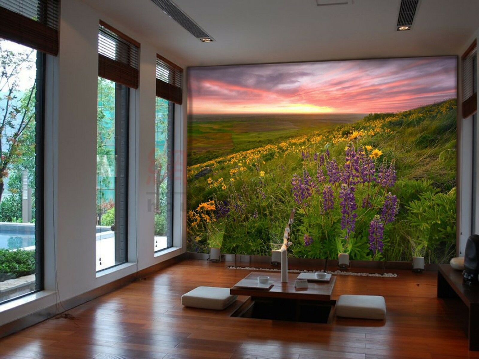3D Lawn sky cloud 2577 Wall Paper Wall Print Decal Wall Indoor Murals Wall US