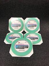 "5-3M Fine Line Mint Green Precision Masking Tape,1/4"" x 60 yards(3M-6525, 06525)"