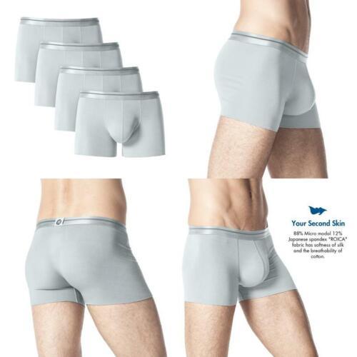 Gli Uomini S 4 conf Slip Boxer Micro Modal Boxer Uomini Boxer menstrunks M02 GI
