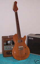 Custom made Homemade Mahogany LP Style electric guitar Silvertone bolt on neck