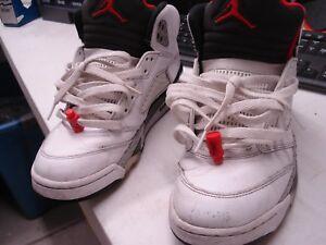 4512432d6e3 Air Jordan 5 Retro White Cement Size 9- 136027-104 | eBay