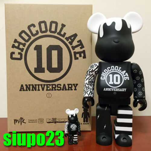 100/% Bearbrick ~ Milk Magazine x Chocoolate Be@rbrick Medicom 400/%