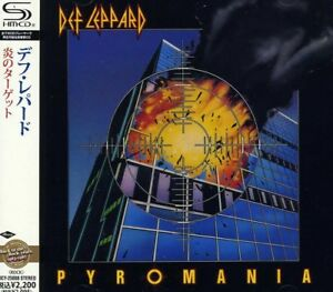 3521306242 Image is loading Def-Leppard-Pyromania-New-CD-Shm-CD-Japan-