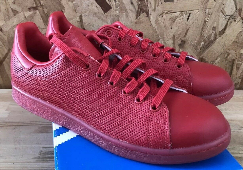 adidas stan smith adicolor scarlet s80248 sz 10,5 nib s80248 scarlet rouge 73eb5f