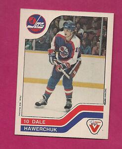 RARE-1983-84-JETS-DALE-HAWERCHUK-VACHON-FOOD-NRMT-CARD