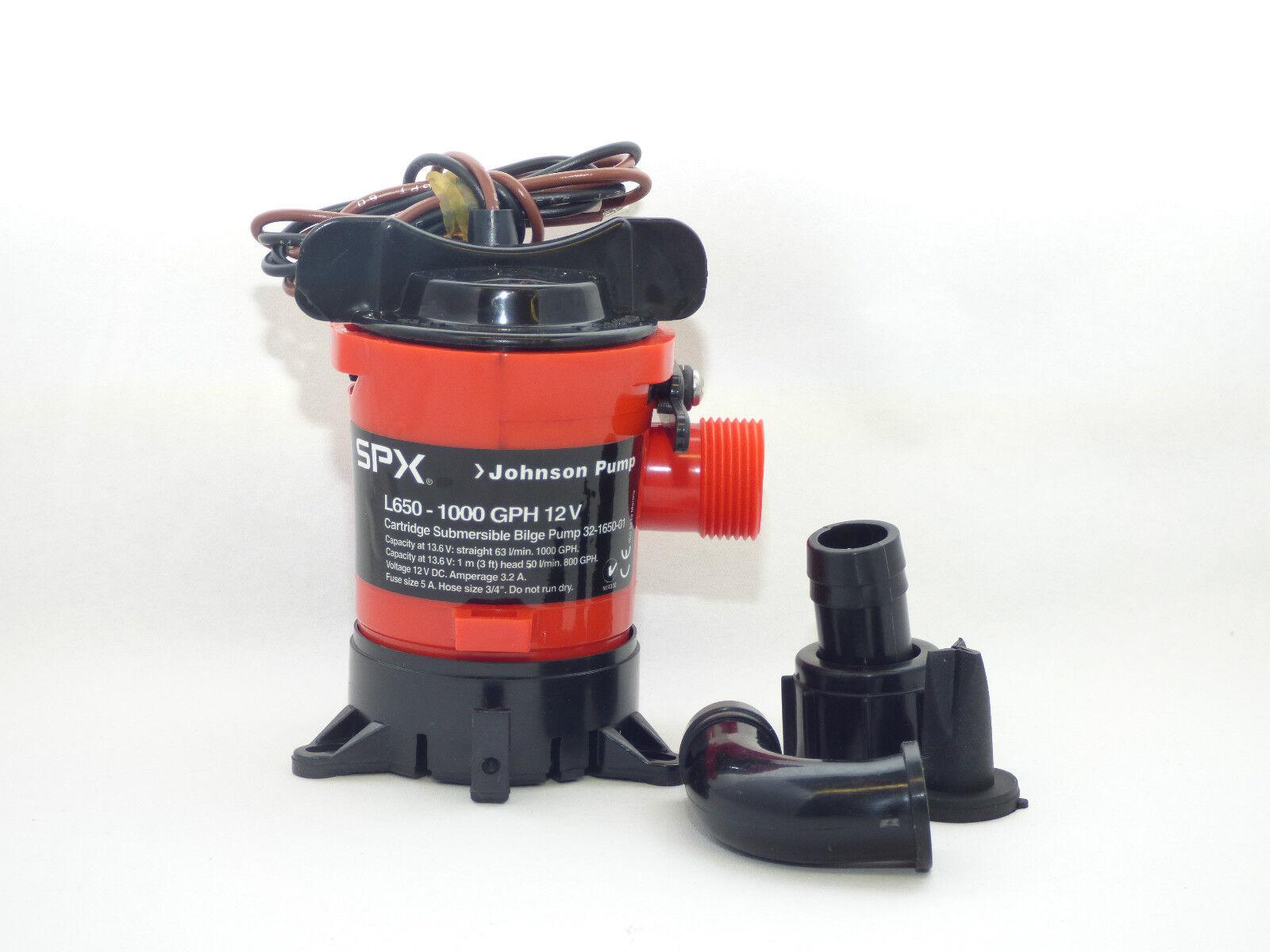 Bilgenpumpe JOHNSON PUMP L450 Wasserpumpe - L 750  Lenzpumpe Wasserpumpe L450 Tauchpumpe 44b9ce