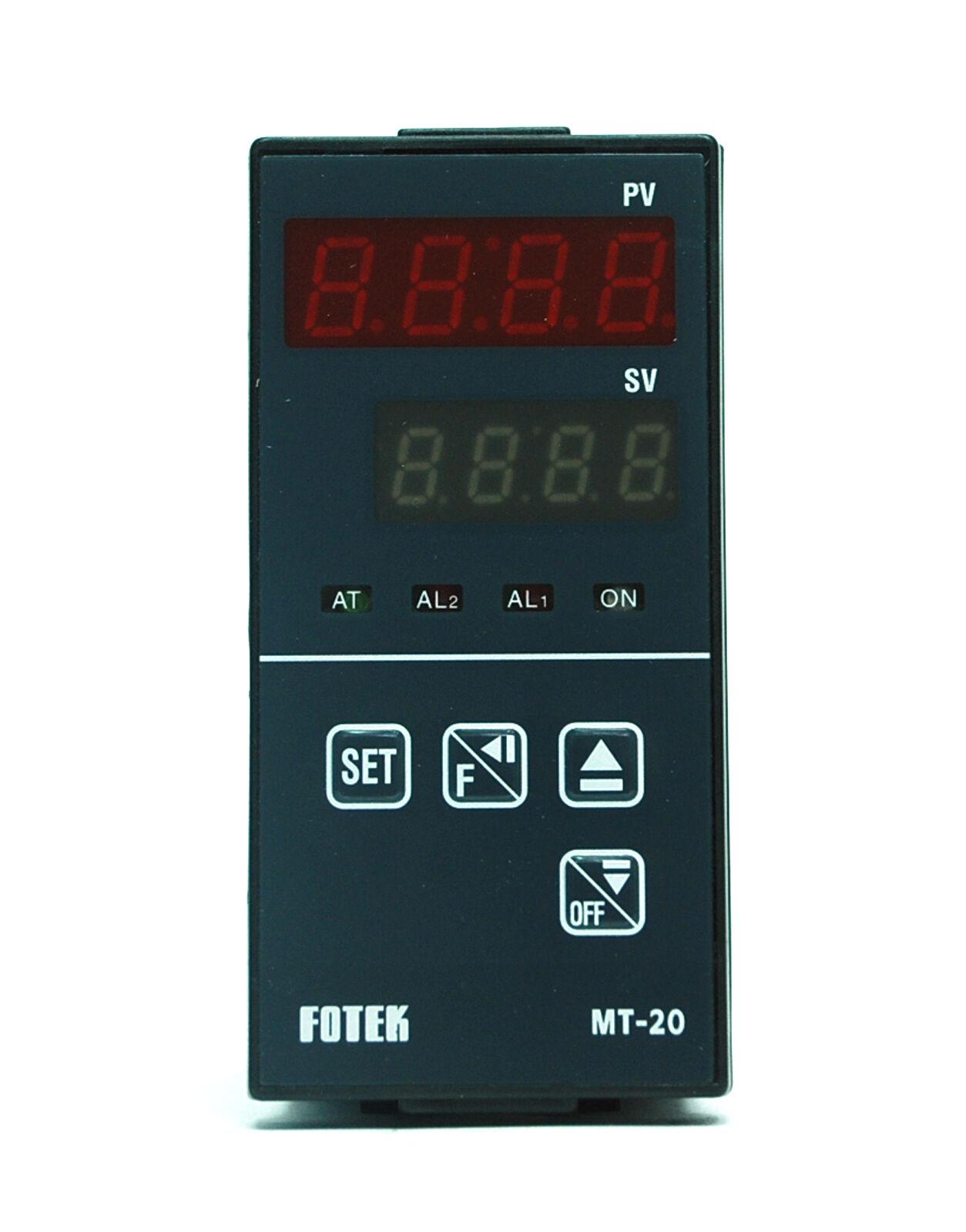 1pc Fotek MT-20V-RS 48x96mm Temperature Controller K J Pt PID Vout Alarm RS-485