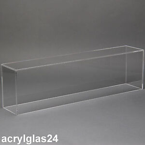 haube plexiglas acrylglasvitrine galerievitrine staubschutzhaube museumsvitrine ebay. Black Bedroom Furniture Sets. Home Design Ideas