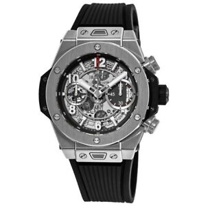New Hublot Big Bang Unico 42mm Titanium Case Men's Watch 441.NX.1170.RX