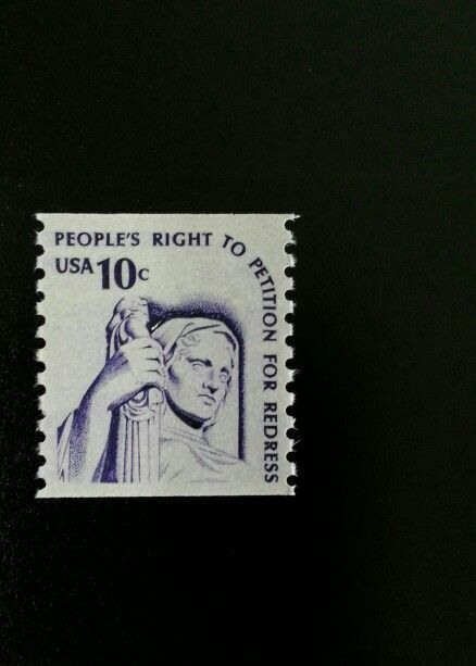 1977 10c People's Right to Petition for Redress, Coil S
