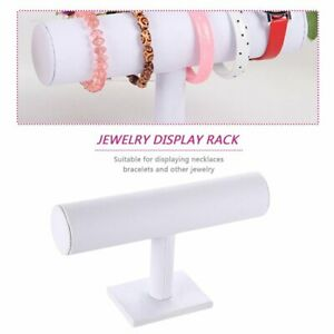 Jewelry-Rack-Bracelet-Watch-Necklace-Stand-Organizer-Holder-Display-White-FF