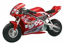 Razor Pocket Rocket 24 V Kids Mini Bike 15 MPH Ride On Electric Motorcycle, Red