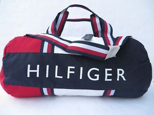 86d74328982e Tommy Hilfiger Large Gym Bag Duffle Travel women men handbag Navy ...