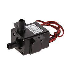 Mini Electric Submersible Water Pump ABS Ultra Quiet 12V Aquarium Pompe