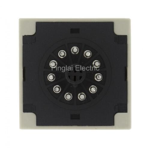 H3CR-A 11 pin DC 24V On-delay DPDT time relay H3CR series delay timer