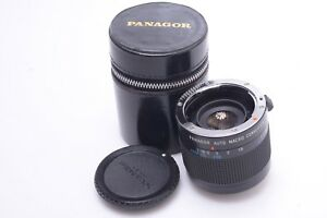 PANAGOR AUTO MACRO 1:1 ZOOM CONVERTER PENTAX PK FOR 50MM LENSES W