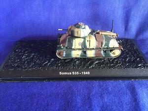 1//87 // H0 WWII Dt Artitec 387.69-Gr Beutefahrzeug Somua S35 Fertigmodell