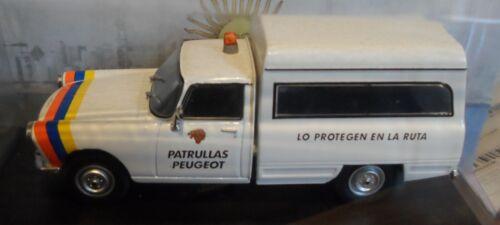 Peugeot 404 Cargo  1980  Diecast Autos Inolvidables scale  1:43  Argentina