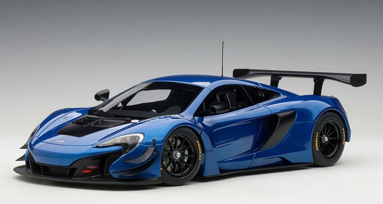 81641 AUTOart 1:18 McLaren 650S GT3 metallic blue