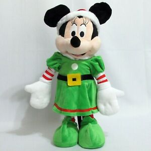 Christmas-Disney-Minnie-Mouse-Elf-Porch-Greeter-Self-Standing-21-Inch-Gemmy