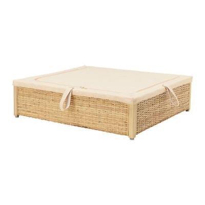 Ikea Römskog Bed Storage Box Rattan 65 X 70 Cm Ebay