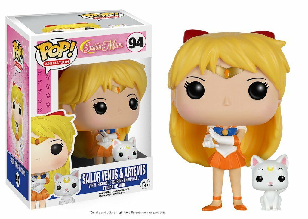 Funko POP - Animation - Anime - Sailor Moon - 94 Sailor Venus e Artemis