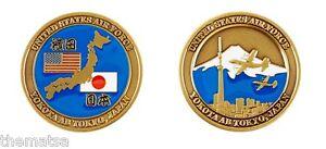Air Force Base Yokota Tokyo Japan Map City Challenge Coin Ebay
