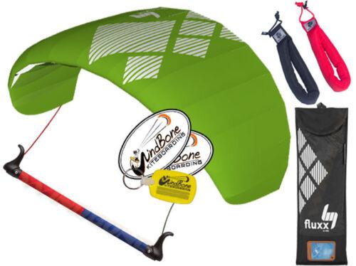 HQ4 HQ Fluxx 1.8 Trainer Kite Kiteboarding Foil Power Kitesurf Padded Straps