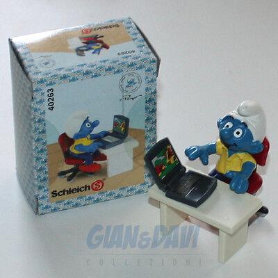 Puffo Puffi Smurf Smurfs Schtroumpf 4.0263 40263 Laptop Computer Box 7a Brividi E Dolori