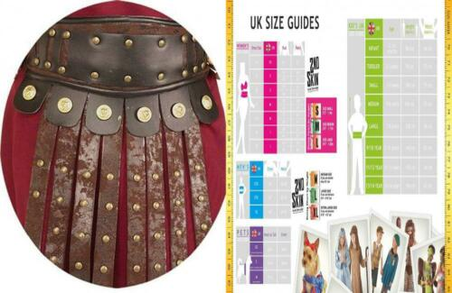 Rubie/'s Costume Men/'s Roman Apron and Belt Accessory 1 Pack Multicolor