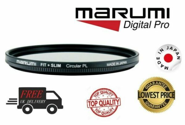 Slim 49mm Circular PL Filter Marumi Fit