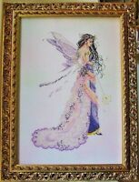 Sale Complete X Stitch Kit enchanted Fairy Rl23 By Passione Ricamo