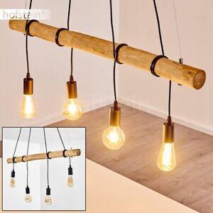 schwarze Retro Hänge Leuchten Ess Wohn Schlaf Zimmer Beleuchtung Pendel Lampen