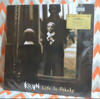 Korn - Life Is Peachy Limited Import 180 Gram Clear Vinyl Numbered