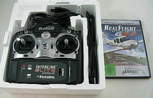 Real volo Remote Control R C Simulator G  5.5 W InterLink Elite Controller Used  qualità autentica