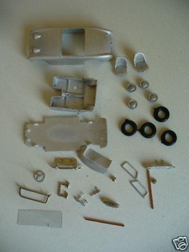 Austin Healey Sprite Mk1 1 43rd scale white metal kit  by K & R Replicas Frogeye