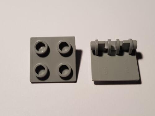 #tw50 LEGO ® 4 x 6134 Charnière 2 x 2 Haut Gris clair 4211881