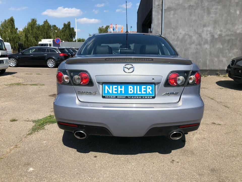Mazda 6 2,3 MPS Benzin 4x4 4x4 modelår 2007 km 155000