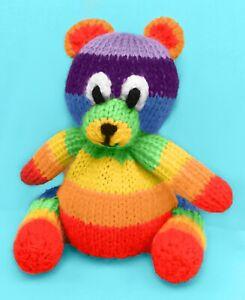 Lotso Bear inspired choc orange cover KNITTING PATTERN 15 cms Toy story toy