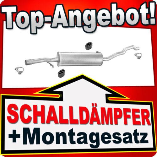 Mittelschalldämpfer FORD GALAXY SEAT ALHAMBRA VW SHARAN 2.8 Auspuff APH