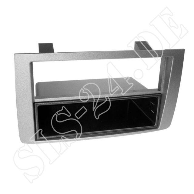 ACV 281150-03 1-DIN Einbaurahmen Radioblende mit Ablagefach Lancia Musa 350 ab04