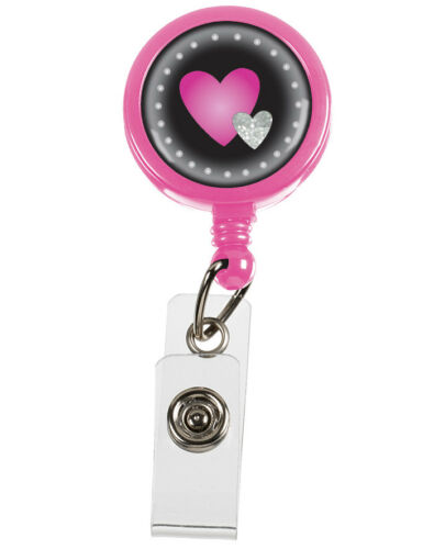 S13 Retracteze™ ID Holder Hearts Model