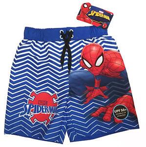 0eff8a1454734 Marvel Spider-Man Swim Trunks - Little Boys Size 4/5 Spiderman ...
