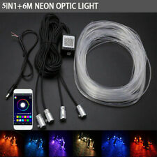 6m RGB LED Strip Leiste Auto Innenraum Ambientebeleuchtung Telefonsteuerung Pro