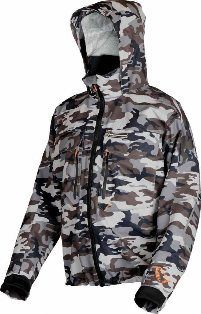 promozioni Savage Gear Camo Jacket pioggia Giacca XL