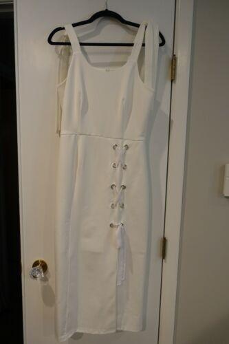 Ivory sun dress sz. L